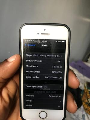 Apple iPhone SE 32 GB Gray   Mobile Phones for sale in Abuja (FCT) State, Garki 2