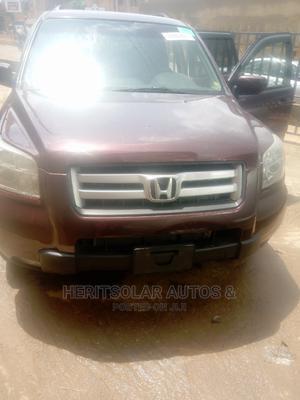 Honda Pilot 2007 LX 4x4 (3.5L 6cyl 5A) Purple | Cars for sale in Lagos State, Ojodu