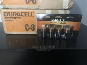 Original Duracell Coppertop C Batteries (8 Batteries)   Accessories & Supplies for Electronics for sale in Abuja (FCT) State, Kubwa