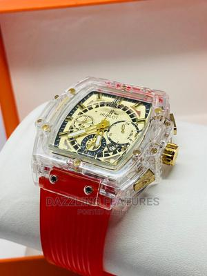 Rubber Hublot With Transparent Cover   Watches for sale in Oyo State, Oluyole