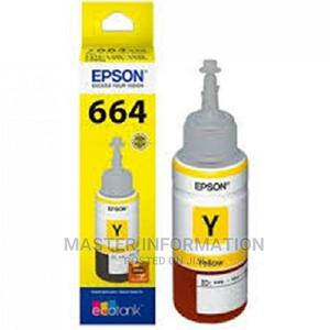 EPSON Ink T6644 Yellow | Accessories & Supplies for Electronics for sale in Lagos State, Ikeja