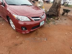 Toyota Corolla 2013 Red | Cars for sale in Abuja (FCT) State, Apo District