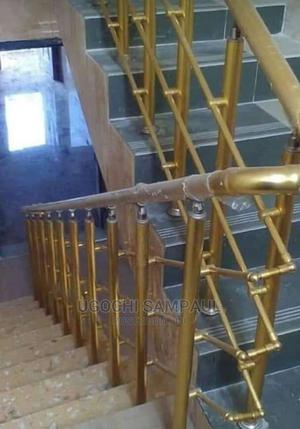 Stainless and Aluminum Railing and Accessories for Staircase | Other Repair & Construction Items for sale in Lagos State, Isolo
