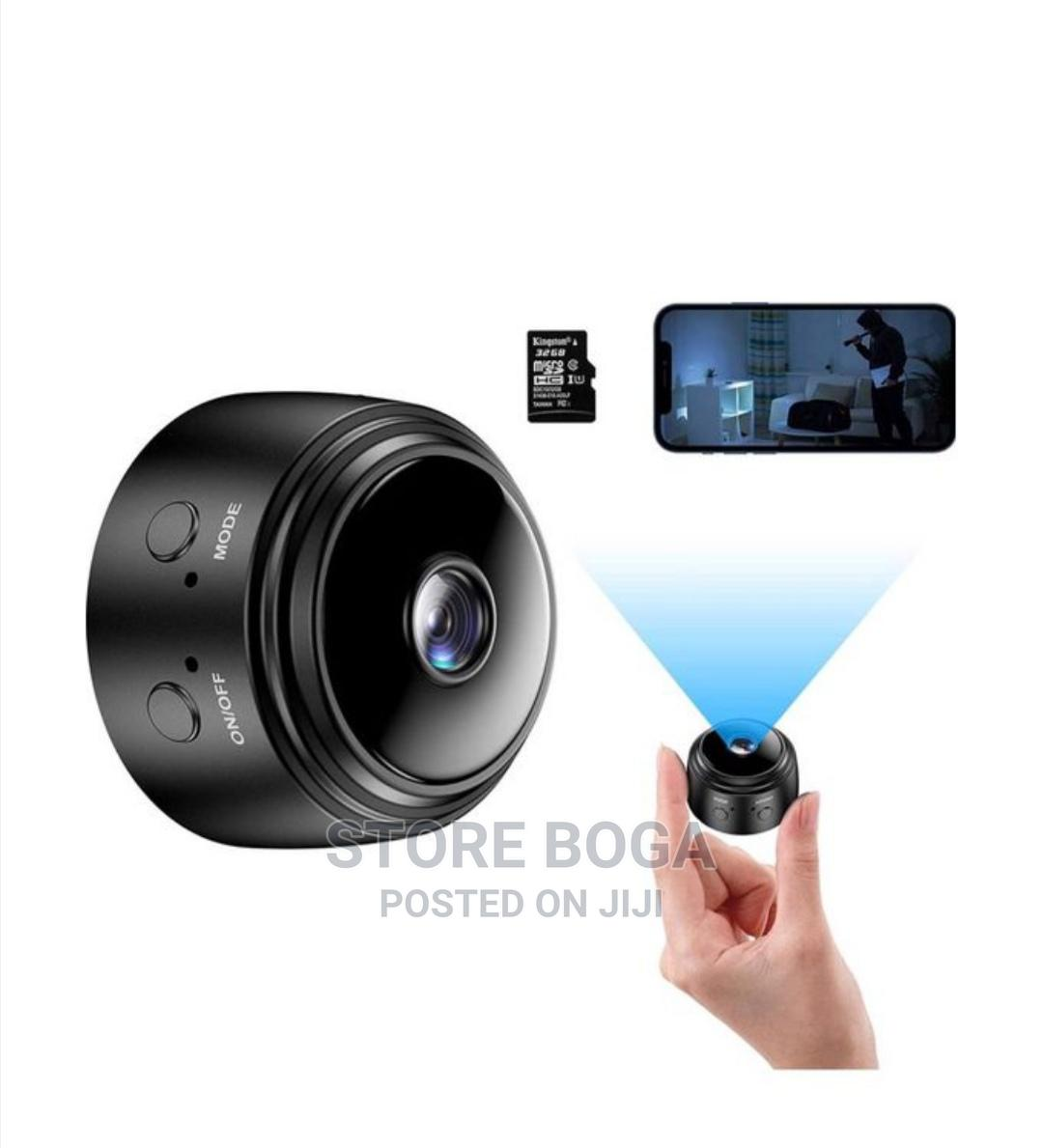 Mini HD Security Hidden Camera
