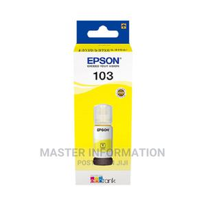 EPSON Ink 103 Yellow | Accessories & Supplies for Electronics for sale in Lagos State, Ikeja
