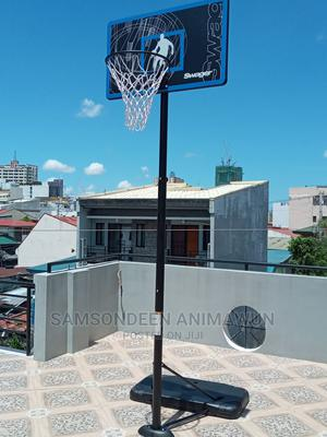 10ft Basketball Set Basketball Set With Base | Sports Equipment for sale in Lagos State, Lekki