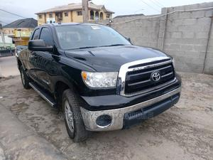 Toyota Tundra 2011 Double Cab 4x4 Limited Black   Cars for sale in Lagos State, Ifako-Ijaiye