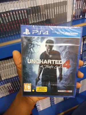 Ps4 Uncharted 4 the Thief End   Video Games for sale in Lagos State, Ikeja