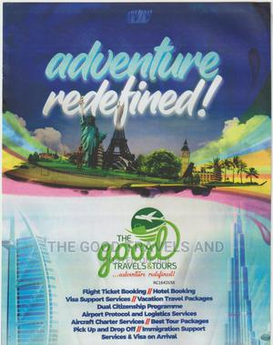 Flight Ticket, Travels And Tours To All Destinations. | Travel Agents & Tours for sale in Ogun State, Abeokuta South