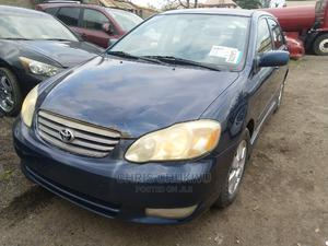 Toyota Corolla 2004 Sedan Automatic Blue   Cars for sale in Lagos State, Isolo