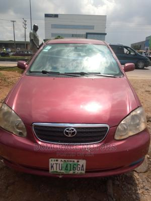 Toyota Corolla 2005 Red | Cars for sale in Lagos State, Maryland