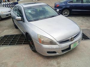 Honda Accord 2007 Sedan VP Automatic Silver   Cars for sale in Lagos State, Yaba