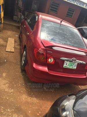 Toyota Corolla 2004 LE Red | Cars for sale in Lagos State, Ogba