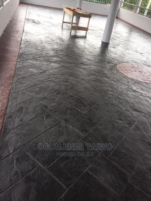 Stamped Concrete Floor   Building & Trades Services for sale in Lagos State, Gbagada