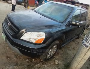 Honda Pilot 2004 EX-L 4x4 (3.5L 6cyl 5A) Black | Cars for sale in Rivers State, Port-Harcourt