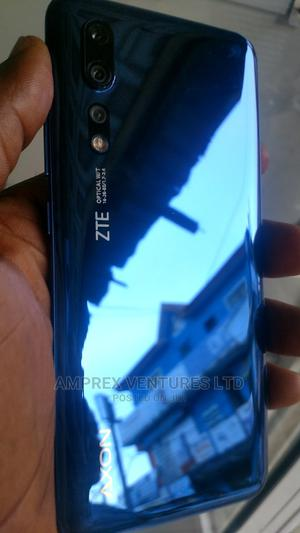 ZTE Axon 10s Pro 256 GB Blue   Mobile Phones for sale in Lagos State, Ikeja