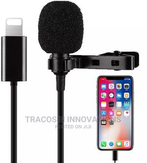 Mini Lapel Lavalier Microphone for iPhone   Accessories & Supplies for Electronics for sale in Lagos State, Yaba