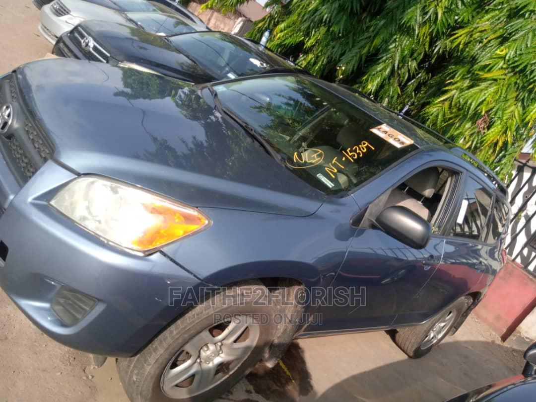 Toyota RAV4 2010 2.5 4x4 Blue   Cars for sale in Ikeja, Lagos State, Nigeria