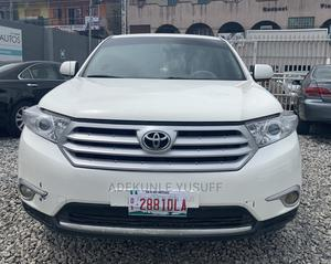 Toyota Highlander 2008 Limited 4x4 White | Cars for sale in Lagos State, Ogba