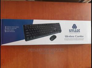 Smaat Keyboard and Mouse Wireless Combo | Computer Accessories  for sale in Lagos State, Ikeja