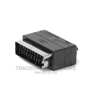 Scart Male Plug to 3RCA Phono Female for PS4 21 PIN Adapter | Accessories & Supplies for Electronics for sale in Lagos State, Yaba