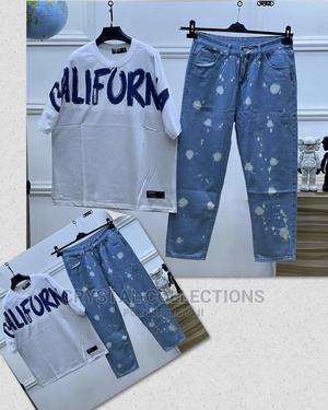 Top Notch Quality Designer Jeans and Unique Shirt. | Clothing for sale in Lagos State, Lekki