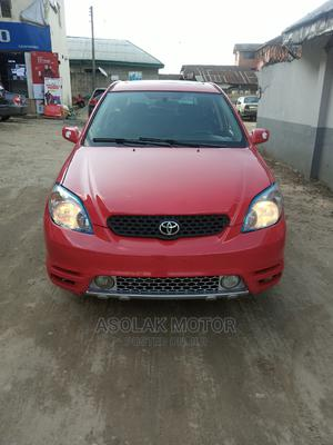 Toyota Matrix 2004 Red | Cars for sale in Rivers State, Oyigbo