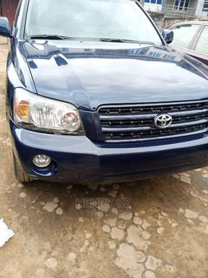 Toyota Highlander 2005 Limited V6 Blue | Cars for sale in Anambra State, Onitsha
