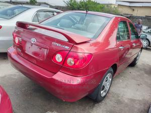 Toyota Corolla 2006 LE Red   Cars for sale in Lagos State, Apapa