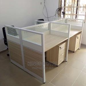 Work Station by 4 Seaters With Four Mobile Drawer | Furniture for sale in Lagos State, Eko Atlantic