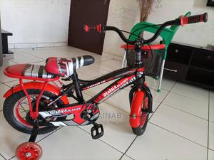Bicycle With Pump   Toys for sale in Abuja (FCT) State, Garki 2