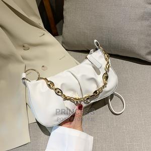 Trendy Folds Shoulder Chain Cloud Ladies Handbag   Bags for sale in Lagos State, Surulere