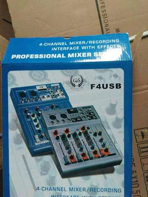 Yamaha 4 Channels Mixer/Recording Interface and USB   Audio & Music Equipment for sale in Lagos State, Ojo
