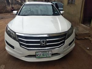 Honda Accord CrossTour 2012 White   Cars for sale in Lagos State, Abule Egba