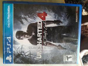 Uncharted 4 a Thief End   Video Games for sale in Osun State, Osogbo