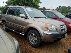 Honda Pilot 2007 EX-L 4x4 (3.5L 6cyl 5A) Gold | Cars for sale in Abuja (FCT) State, Katampe