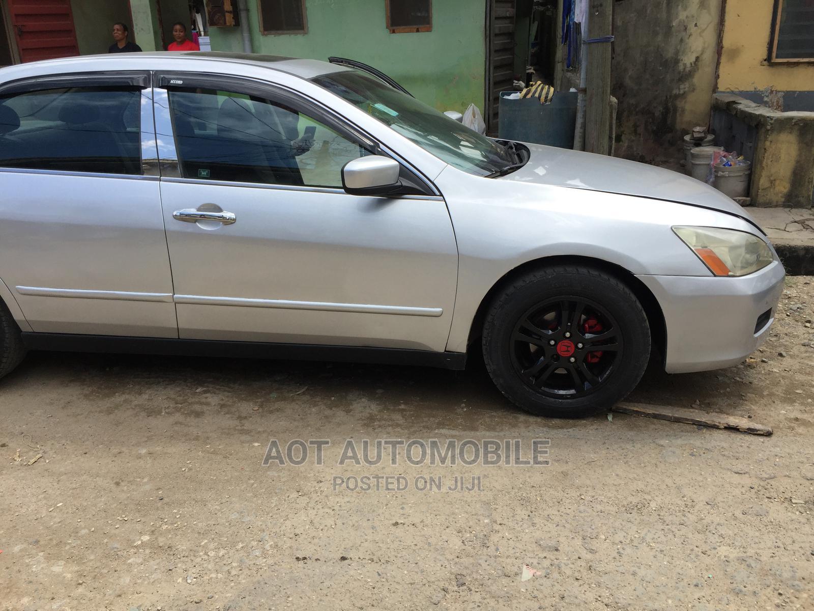 Honda Accord 2007 Sedan EX Silver | Cars for sale in Yaba, Lagos State, Nigeria