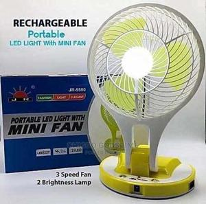 Rechargeable Mini Fan With Led Light | Home Appliances for sale in Lagos State, Surulere