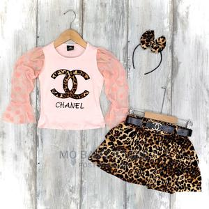 Chanel 2 Piece Skirt Top | Children's Clothing for sale in Lagos State, Alimosho