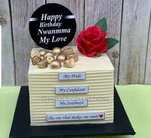 Square Birthday Cake | Party, Catering & Event Services for sale in Lagos State, Agboyi/Ketu