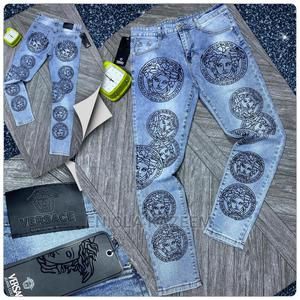 High Quality Designer Versace Jeans Available for U | Clothing for sale in Lagos State, Lagos Island (Eko)