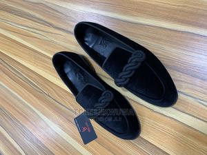 Bito Black Velvet Loafers   Shoes for sale in Lagos State, Surulere