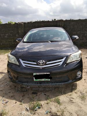 Toyota Corolla 2013 Black | Cars for sale in Delta State, Uvwie