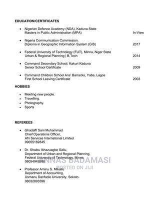 Customer Service CV | Customer Service CVs for sale in Kaduna State, Zaria