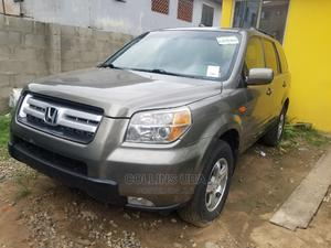Honda Pilot 2007 EX-L 4x4 (3.5L 6cyl 5A) Brown | Cars for sale in Lagos State, Ogba