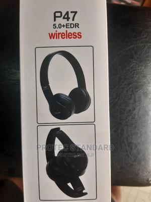 Wireless Bluetooth Headset With Fm   Headphones for sale in Lagos State, Ikeja