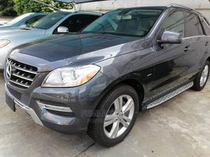 Mercedes-Benz M Class 2012 ML 350 4Matic Blue | Cars for sale in Lagos State, Ikeja
