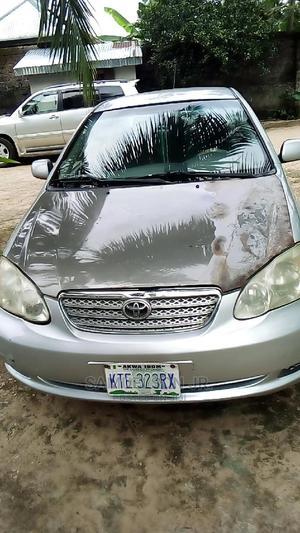 Toyota Corolla 2005 Silver | Cars for sale in Akwa Ibom State, Ikot Ekpene