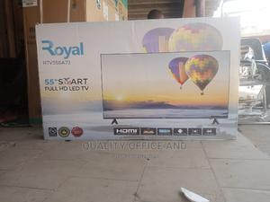 Royal 55 Inches Smart   TV & DVD Equipment for sale in Abuja (FCT) State, Wuse