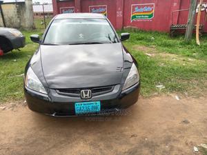 Honda Accord 2004 2.4 Type S Black | Cars for sale in Akwa Ibom State, Uyo
